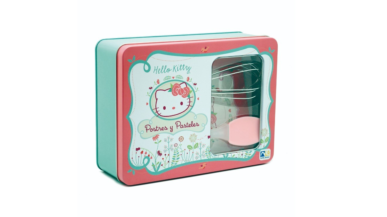 Kit para hornear Hello Kitty