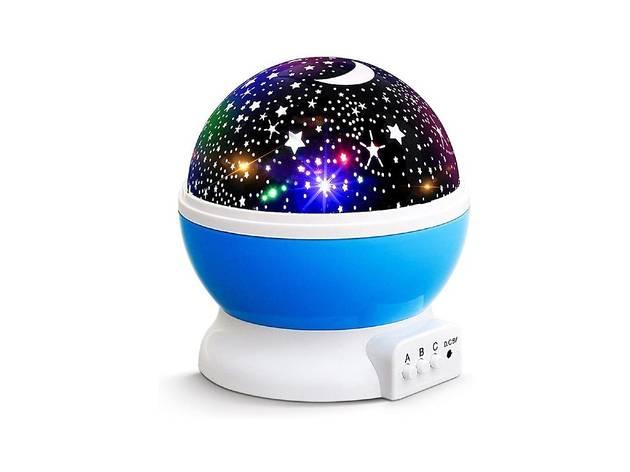 Proyector de estrellas giratorias