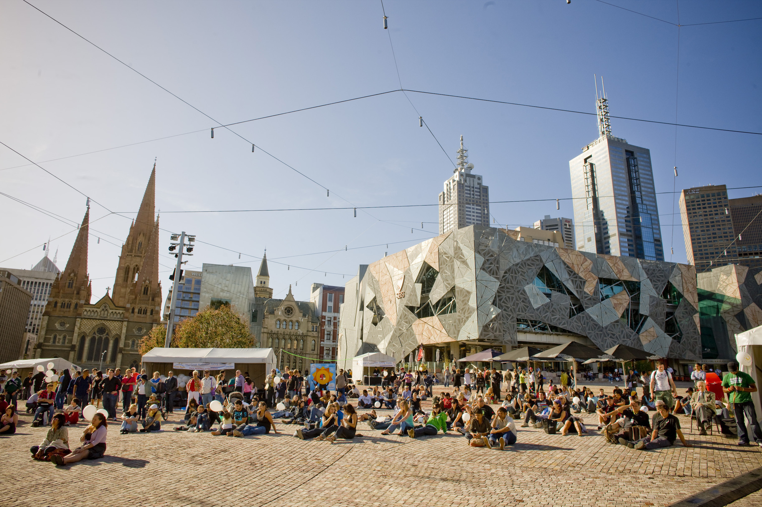 Fed Square is teaming up with MTV to support local musicians