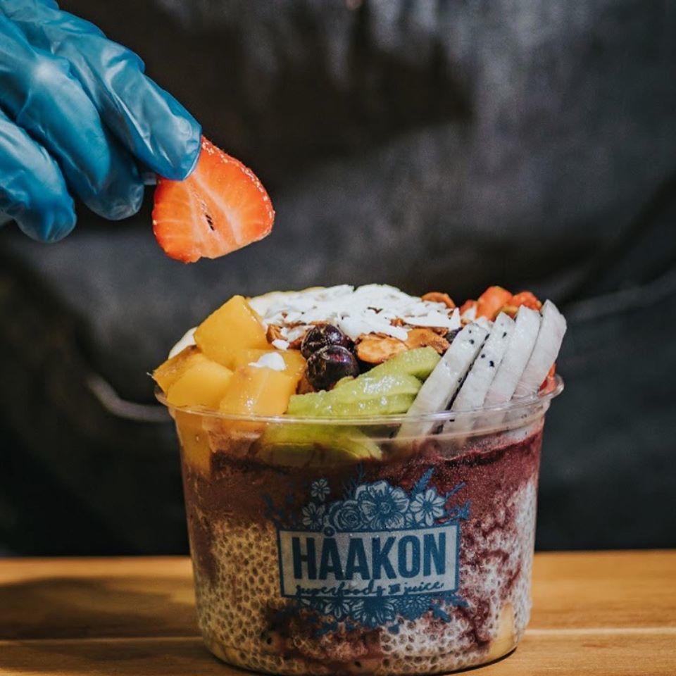 Haakon acai bowl