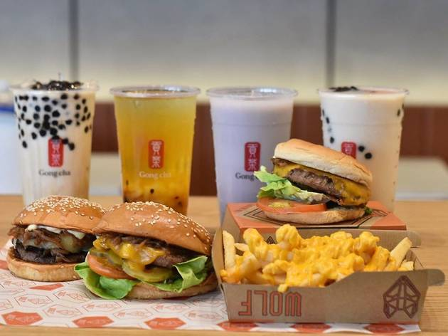 Wolf Burgers Gong Cha
