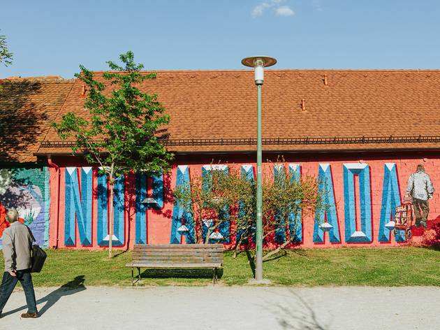 Photos + video: New murals explode onto the walls of Zagreb park