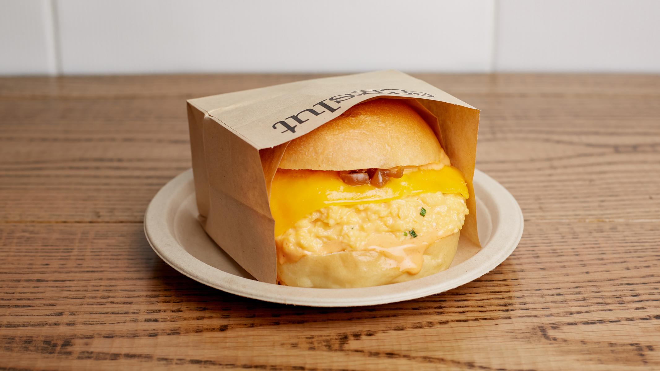 How to make Eggslut's Fairfax egg sandwich