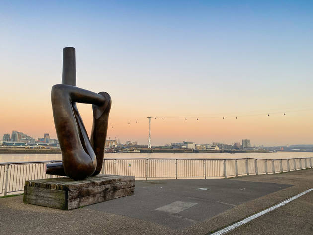 London's first public art walk The Line goes online