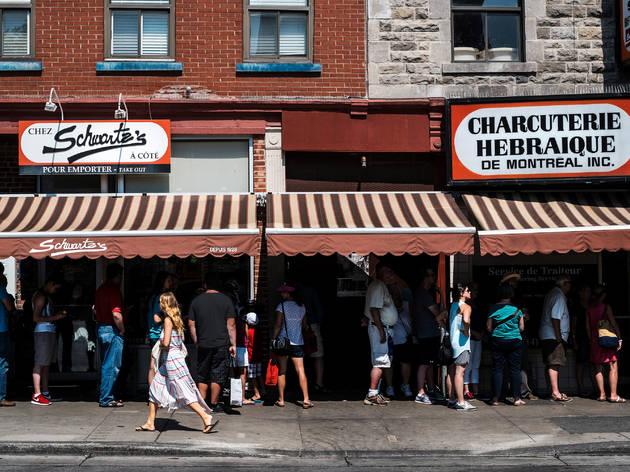 Schwartz's Delicatessen Montreal