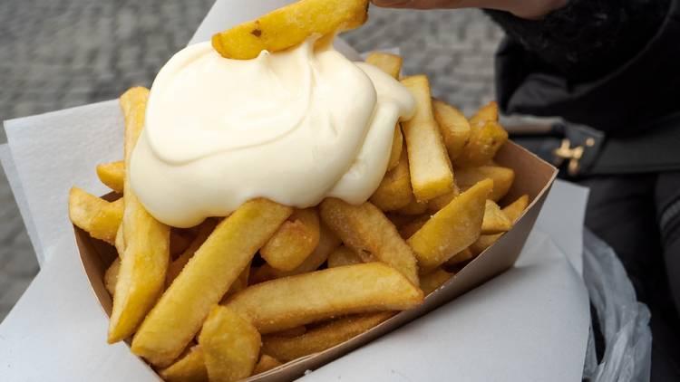Chips in Belgium