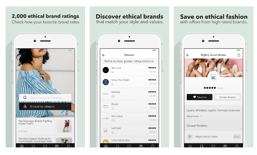 Good On You – Ethical Fashion