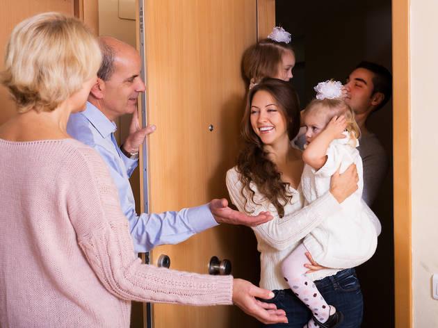 Visita a familiares