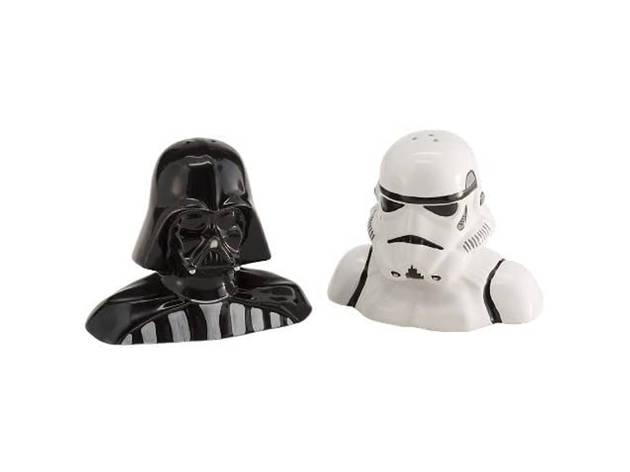 Salero y pimentero de Star Wars