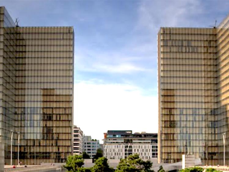 La bibliothèque François-Mitterrand (BNF)