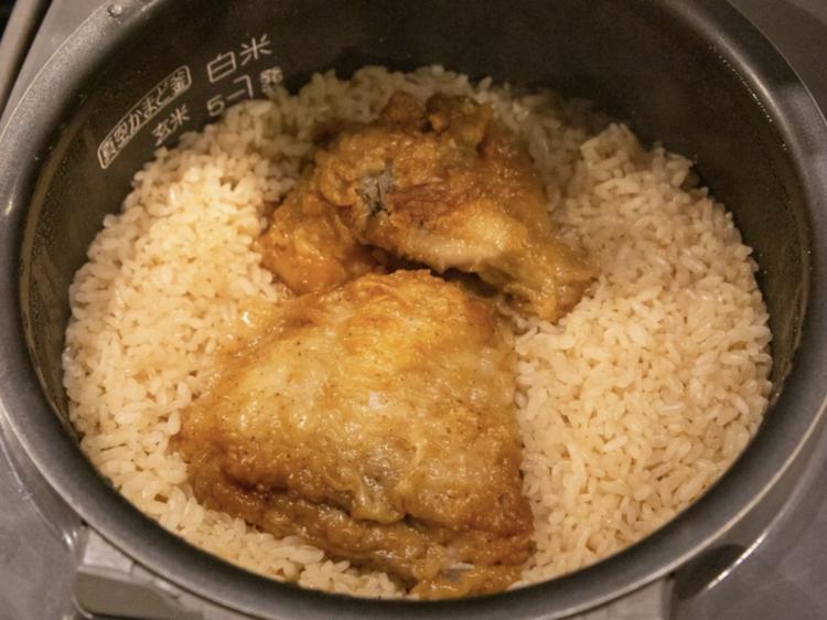 KFC baked rice