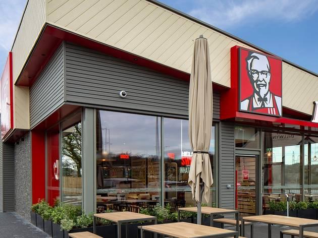 KFC restaurants reopening in UK