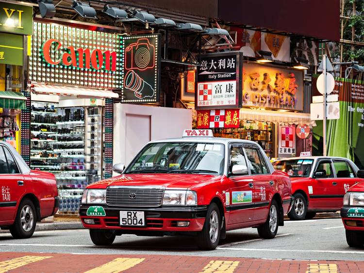 Scratch your head over the intricacies of HK taxis