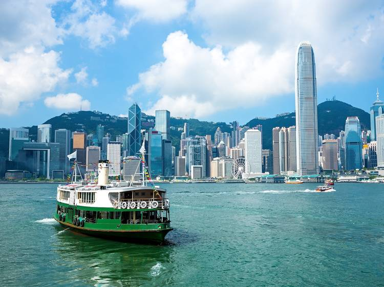 Hop on the iconic Star Ferry
