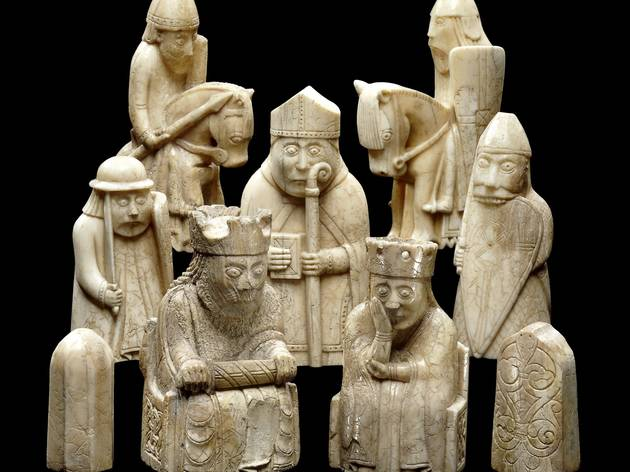 The Lewis Chessmen. © The Trustees of the British Museum