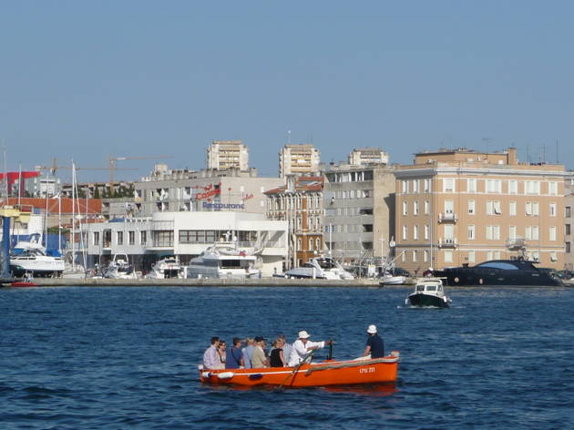 Zadar rowboat
