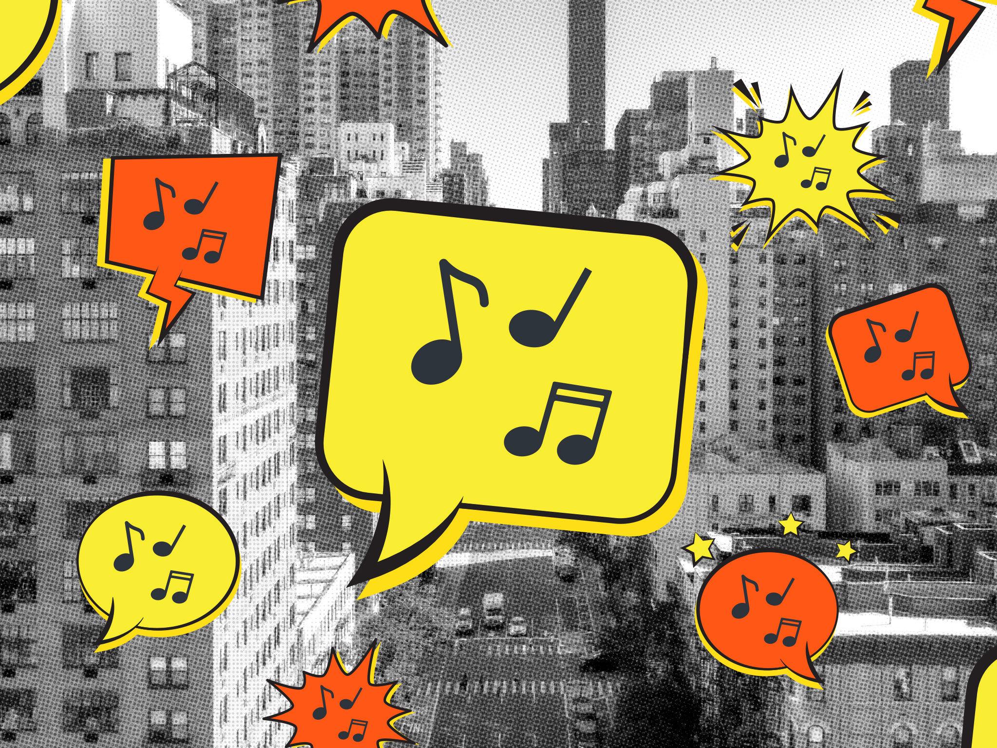 New York City Singalong, NYC, Music, Apartments