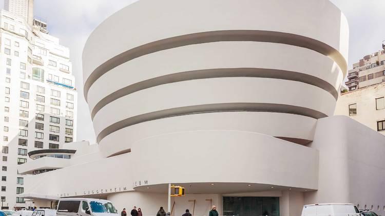 Solomon R. Guggenheim, New York City, NYC, museum