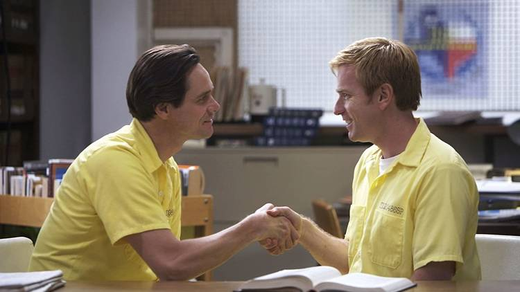 Escena de la película I Love You Phillip Morris