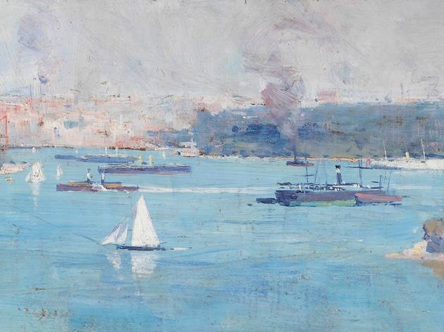 Painting of Sydney Harbour