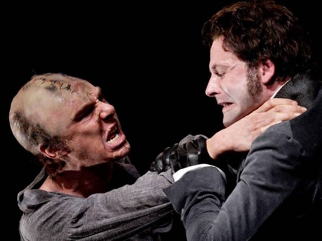 Benedict Cumberbatch and Jonny Lee Miller in Frankenstein (National Theatre Live)