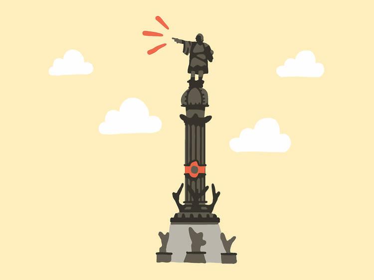 Leo: Monumento a Colón