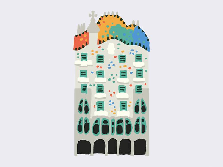 Piscis: Casa Batlló