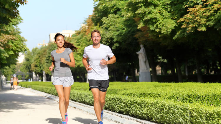 Correr running Retiro