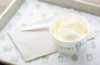 Scoop + Cones Kit frozen custard de vainilla de shake shack