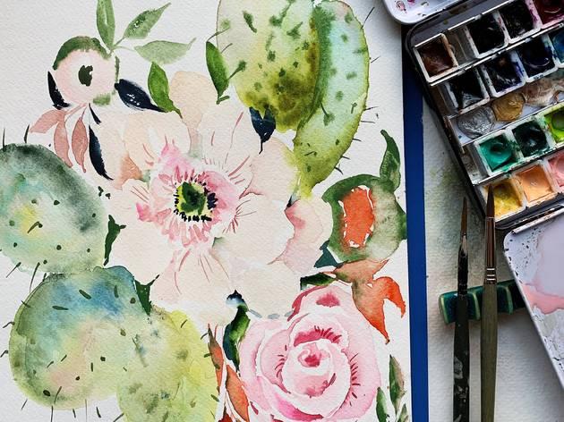 art.com watercolor