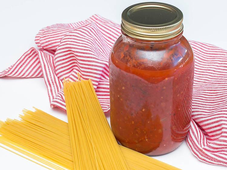 Jar sauce