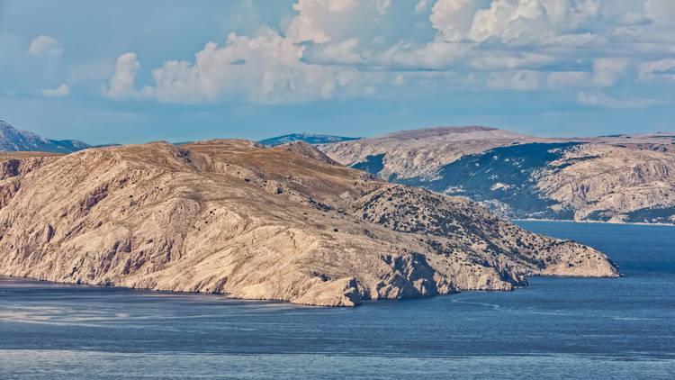 Goli Otok Island In Velebit Channel