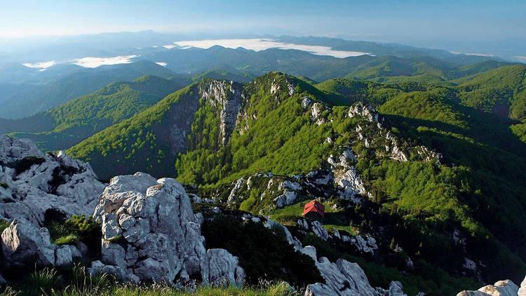 View from a Risnjak, Snjeznik peak