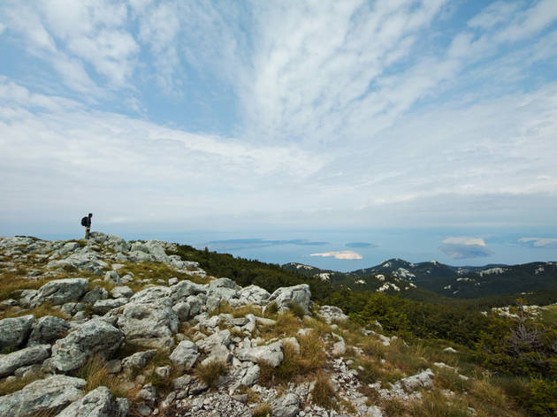 Velebit mountain, Croatia, Zavizan