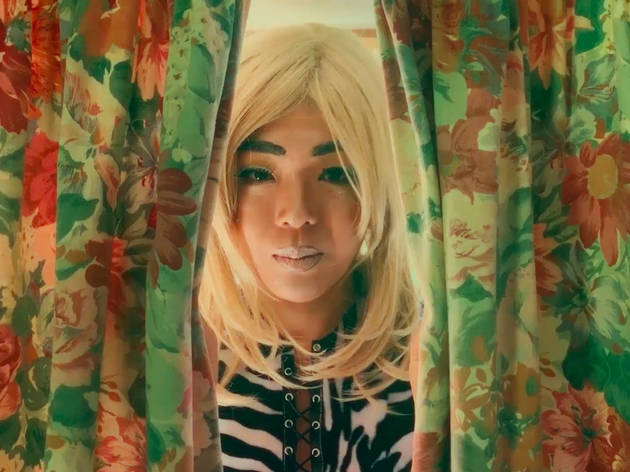 Urara Tsuchiya, still from 'Give us a Meow', 2019, HD video by Ben Toms & Urara Tsuchiya