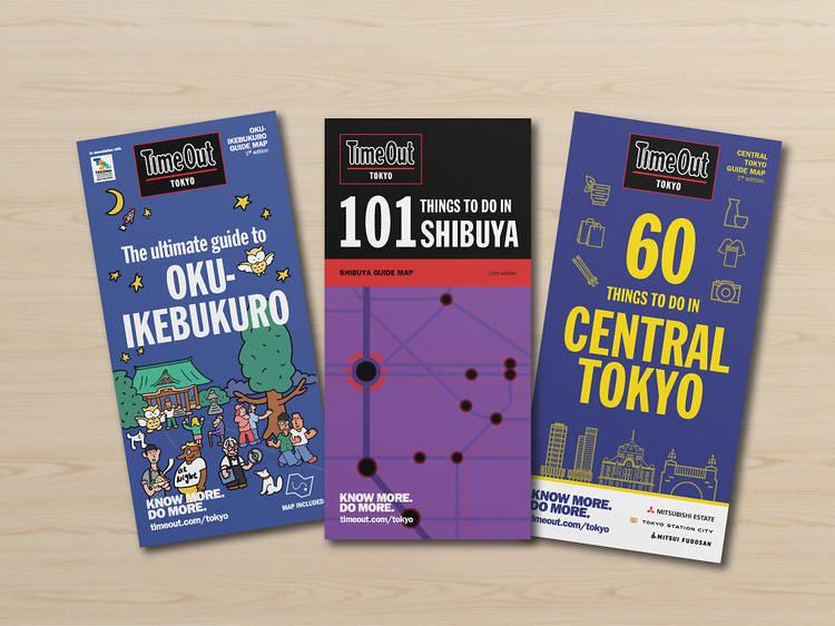 タイムアウト東京のガイドマップがついにデジタル版をリリース