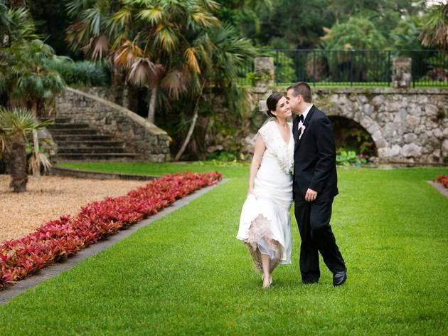 Fairchild Tropical Botanic Garden wedding