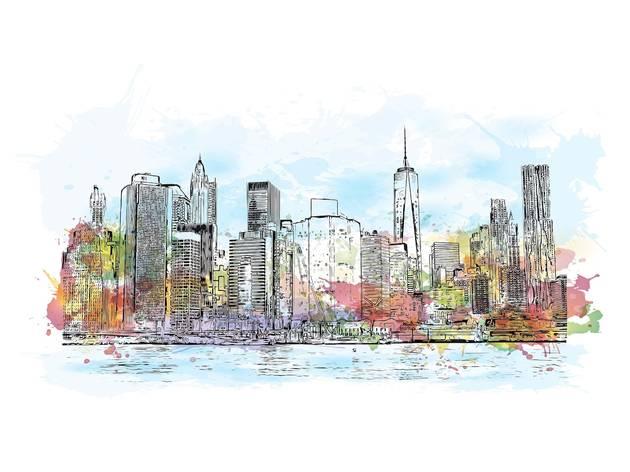 New York, Skyline, Empire State Building, One World Trade Center, YouTube