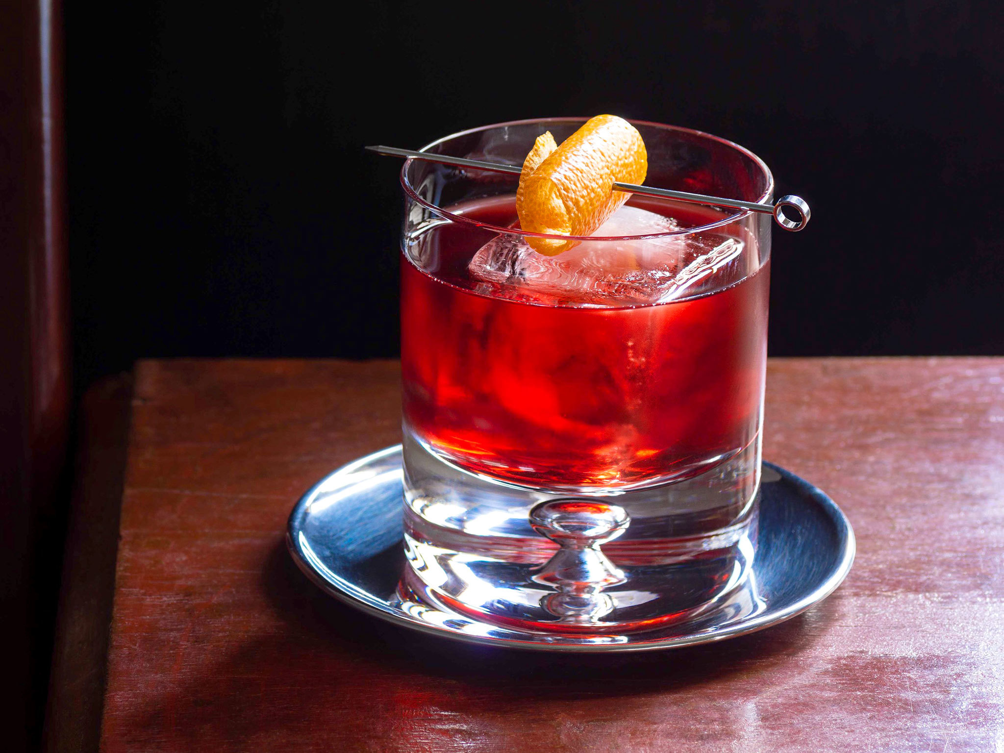 Cocktail, stock, negroni, couchbound