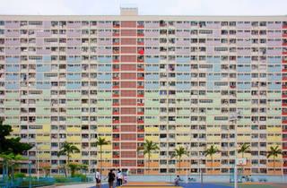housing estate rainbow estate