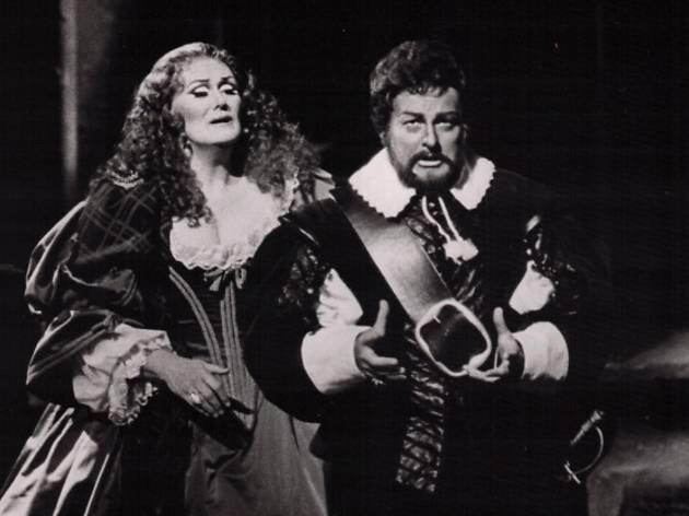 Joan Sutherland in Lucia di Lammermoor, 1980.