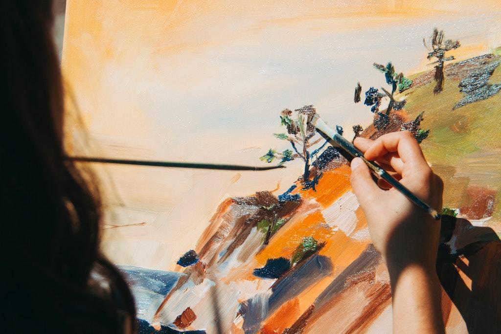 painting, art jamming