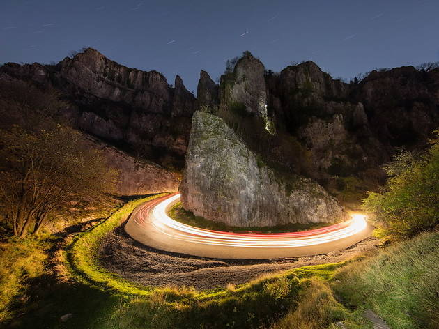 Cheddar Gorge - Horseshoe Bend by Paul Carruthers