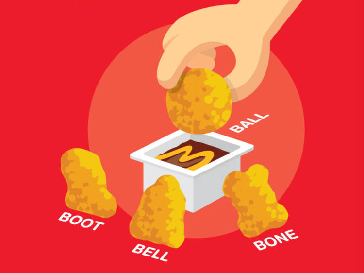 What's up with all the different McNugget shapes?