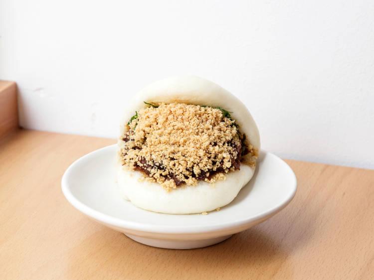 Bao's braised pork bao buns
