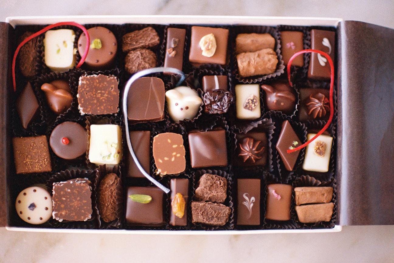 L.A. Burdick Chocolates, LA Burdick, chocolate, chocolates, sweets, dessert