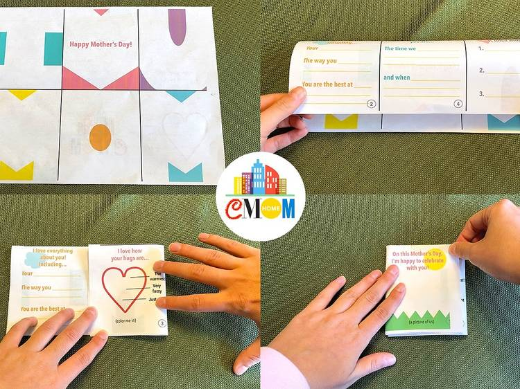 Foldable Card from CMOM