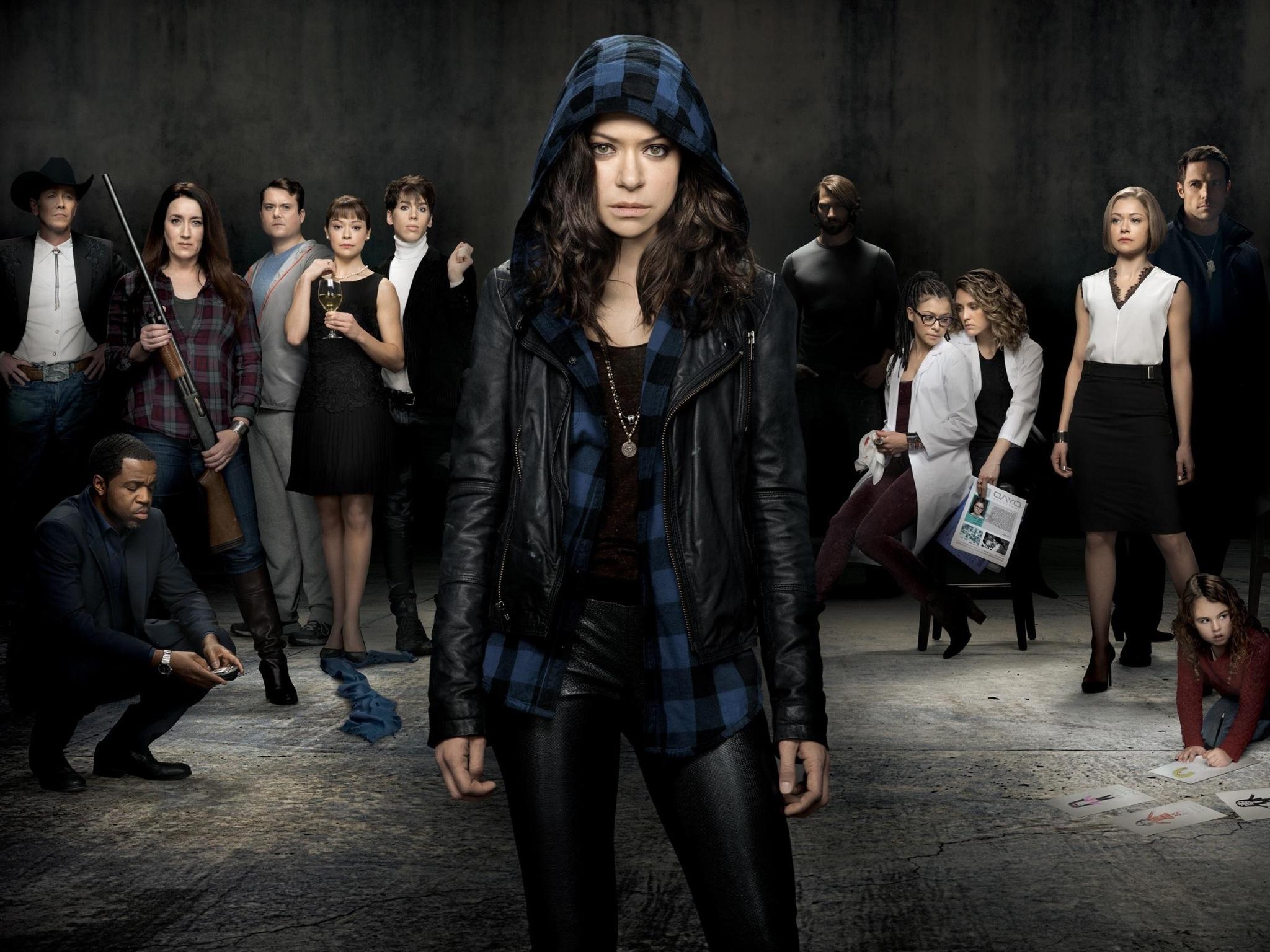 Tatiana Maslany de la serie Orphan Black