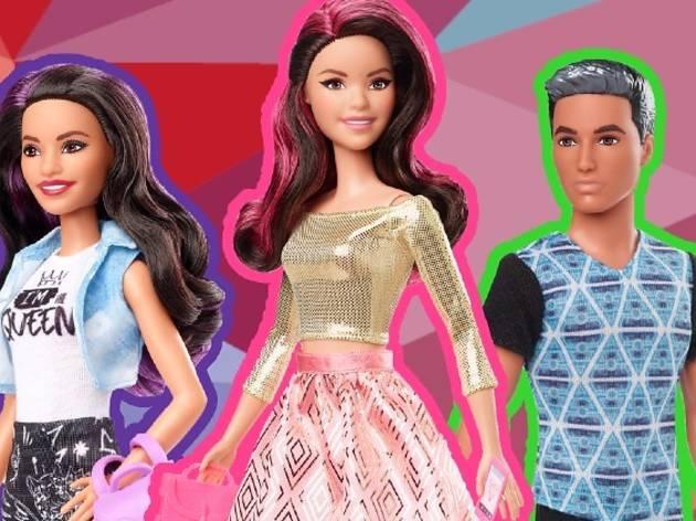 Los Polinesios ya tienen su colección de muñecas Barbie