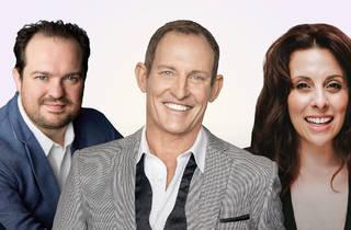 James Culter, Todd McKenney, and Johanna Allen.